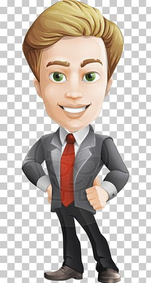 Character Businessperson PNG