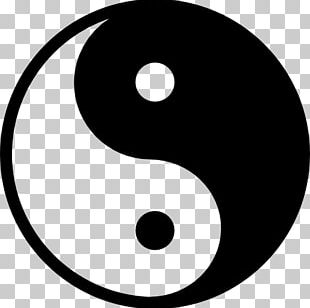 Yin And Yang Symbol Stock Photography PNG