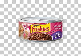 Cat Food Kitten Friskies Can PNG