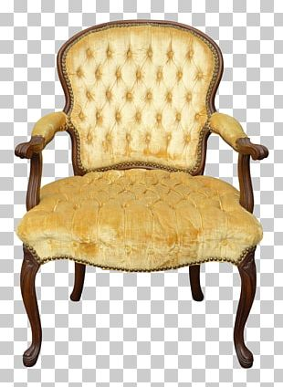 Chair Table Foot Rests Chaise Longue Tufting PNG