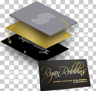 Business Cards Printing Visiting Card Foil Stamping Logo PNG