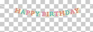 Birthday Cake Logo Brand Font PNG