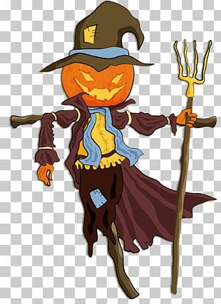 Halloween Scarecrow PNG
