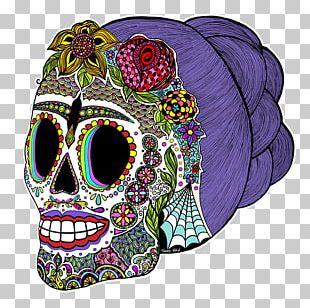 La Calavera Catrina Skull Art Day Of The Dead PNG