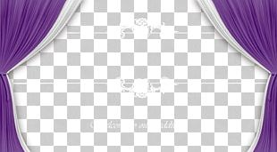 Curtain Purple Pattern PNG