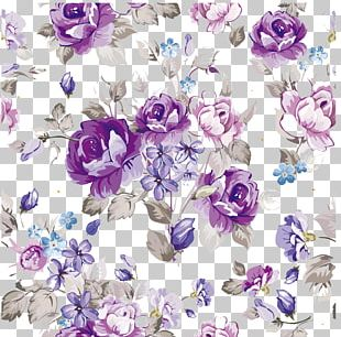 Flower Floral Design Paper Pattern PNG