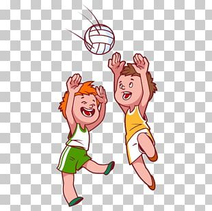 Beach Volleyball Child PNG