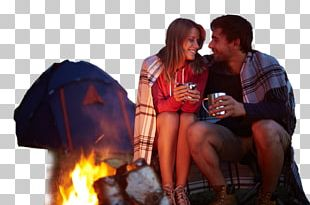 Camping Campsite Tent Campfire S'more PNG