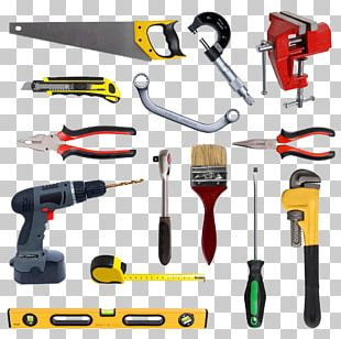 Hand Tool Toolbox Carpenter PNG
