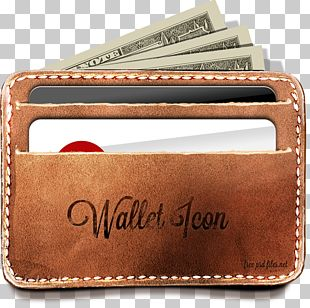 Wallet Mockup Icon PNG