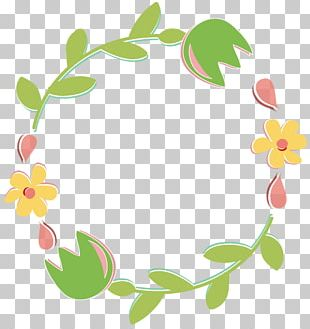 Wreath Flower Bouquet Garland PNG