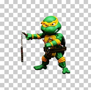Michaelangelo Teenage Mutant Ninja Turtles Action & Toy Figures Figurine PNG