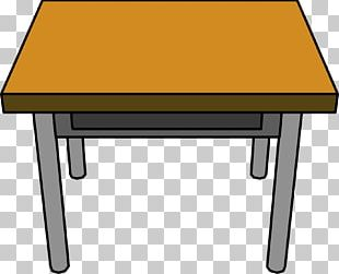 Table Chair Desk Furniture PNG