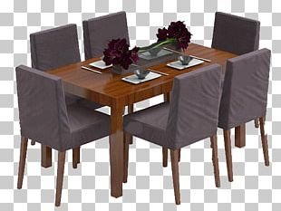 Table Chair Furniture Dining Room Living Room PNG