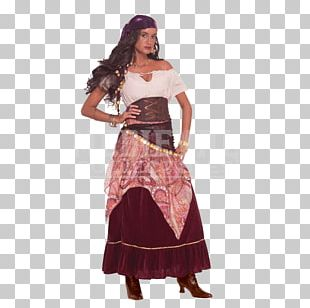 Costume Fortune-telling Clothing Dress Romani People PNG
