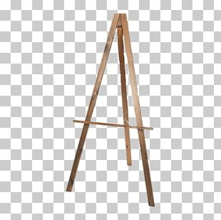 Easel Canvas Painting Arbel Tripod PNG