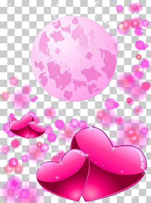 Love Heart Valentine's Day Romance PNG