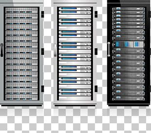 Server 19-inch Rack Data Center PNG
