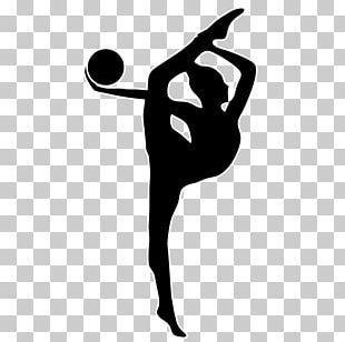 Rhythmic Gymnastics Ribbon Vault PNG
