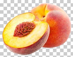 Juice Peach Fruit Crisp Food PNG