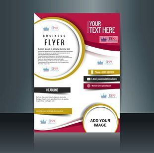 Flyer Graphic Designer Brochure PNG