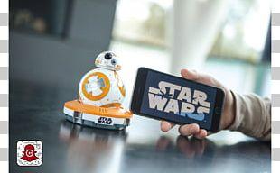 BB-8 App-Enabled Droid Sphero Star Wars PNG