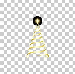 Christmas Tree Christmas Decoration Creativity Gold PNG