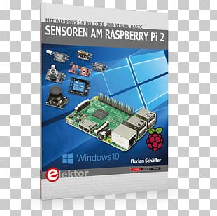 Sensoren Aan De Raspberry Pi 2: Met Windows 10 IoT Core En Visual Basic Microcontroller Electronics Elektor PNG