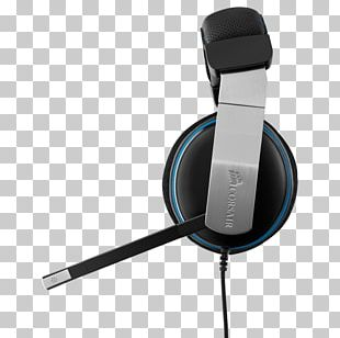 Headphones Corsair Headset Vengeance 1500 Dolby 7.1 USB Gaming Headset Audio Dolby Headphone PNG