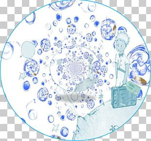 Blue And White Pottery The Little Prince Circle Water PNG