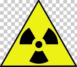 Label Radiation Radioactive Waste HAZMAT Class 7 Radioactive Substances PNG