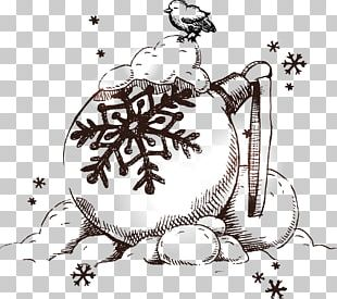 Christmas Drawing Snowman Illustration PNG
