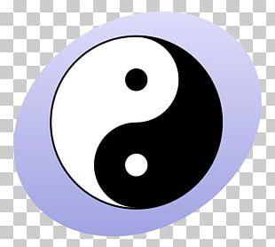 Yin And Yang Bagua Symbol Taoism PNG