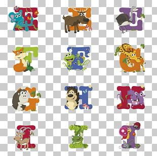 Alphabet Song Animal Letter PNG