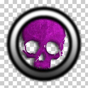 Skull Purple Font Circle M RV & Camping Resort PNG