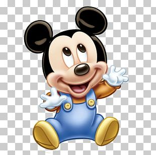 Mickey Mouse Minnie Mouse Infant Birthday Cupcake PNG