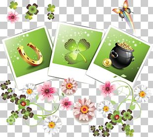 Clover Saint Patrick's Day Luck PNG