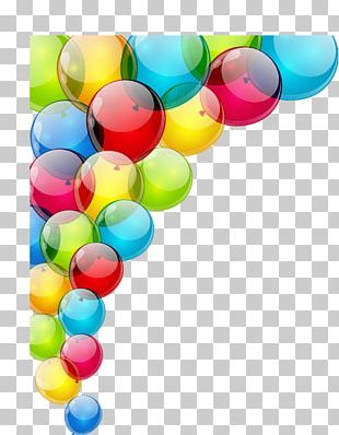Balloon Birthday Party Stock Photography PNG