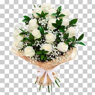 Flower Bouquet Rose Cut Flowers Gift PNG