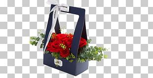 Beach Rose Flower Box Packaging And Labeling Gift PNG