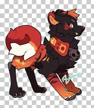 Horse Dog Cat Fire Dancer PNG
