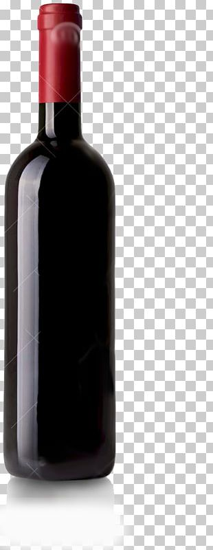 Red Wine Glass Bottle Dessert Wine Liqueur PNG