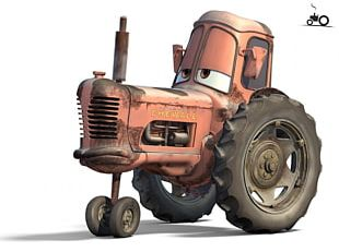 Cars Mater Lightning McQueen Cattle Tractor PNG