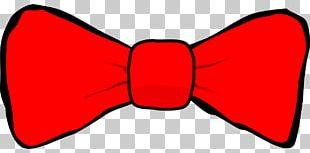 Bow Tie Necktie Red PNG