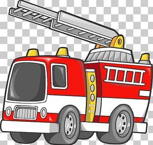 Car Fire Engine Firefighter Truck PNG