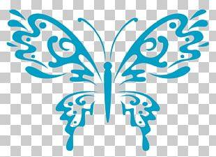 Butterfly Tattoo Stock Photography PNG
