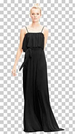 Little Black Dress Navy Blue Bridesmaid PNG
