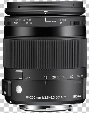 Canon EF Lens Mount Sigma 18-200mm F/3.5-6.3 DC Macro OS HSM Sigma 30mm F/1.4 EX DC HSM Lens Sigma Corporation Camera Lens PNG