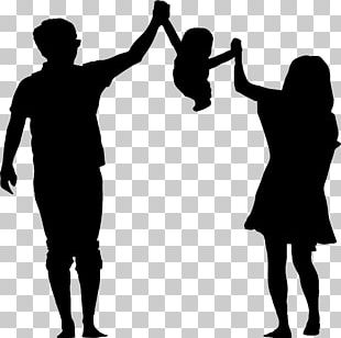 Child Silhouette Parent PNG