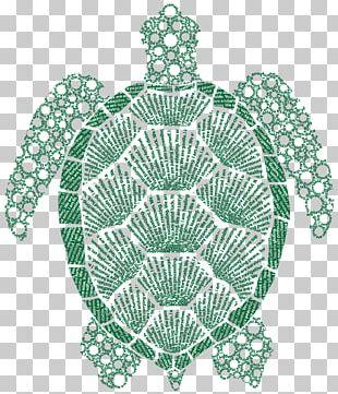 Tortoise Doily Sea Turtle Place Mats PNG